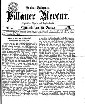 Pillauer Merkur vom 25.01.1871