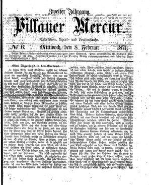 Pillauer Merkur vom 08.02.1871