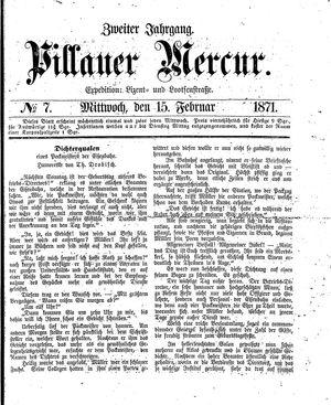 Pillauer Merkur vom 15.02.1871
