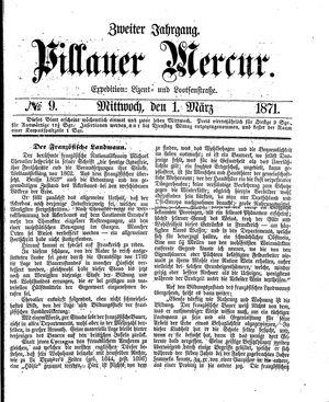 Pillauer Merkur vom 01.03.1871