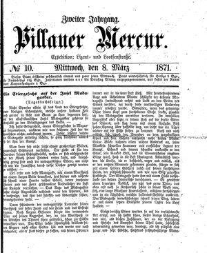 Pillauer Merkur vom 08.03.1871