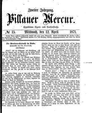 Pillauer Merkur vom 12.04.1871