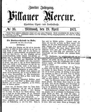Pillauer Merkur vom 19.04.1871