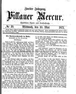 Pillauer Merkur vom 10.05.1871