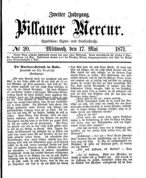 Pillauer Merkur vom 17.05.1871