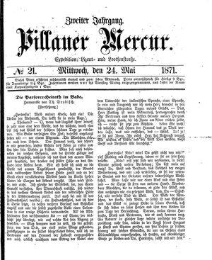 Pillauer Merkur vom 24.05.1871