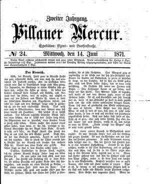 Pillauer Merkur vom 14.06.1871