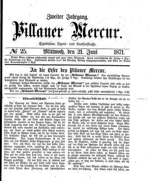 Pillauer Merkur vom 21.06.1871
