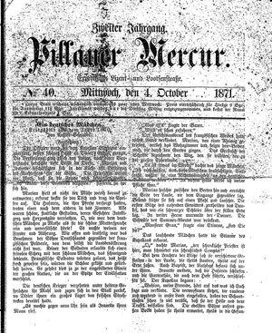 Pillauer Merkur vom 04.10.1871