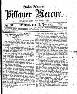Pillauer Merkur vom 13.12.1871