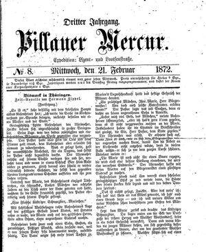 Pillauer Merkur vom 21.02.1872