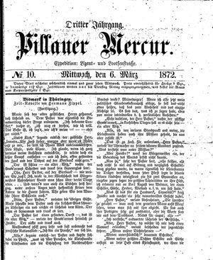 Pillauer Merkur vom 06.03.1872