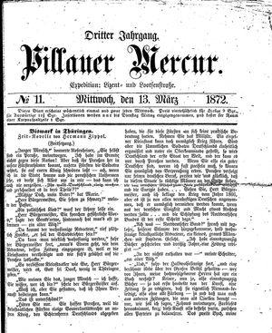 Pillauer Merkur vom 13.03.1872