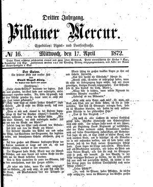 Pillauer Merkur vom 17.04.1872