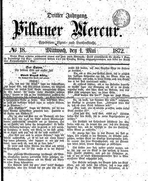 Pillauer Merkur vom 01.05.1872