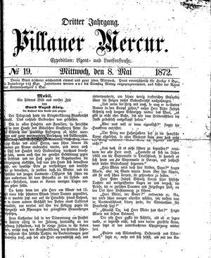 Pillauer Merkur vom 08.05.1872