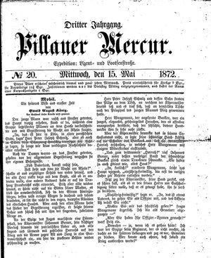 Pillauer Merkur vom 15.05.1872