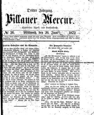 Pillauer Merkur vom 26.06.1872