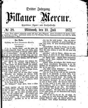 Pillauer Merkur vom 10.07.1872