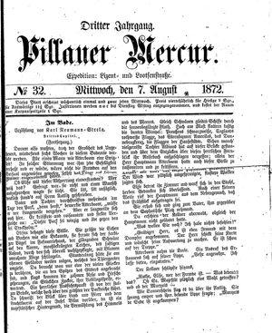 Pillauer Merkur vom 07.08.1872