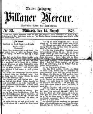 Pillauer Merkur vom 14.08.1872