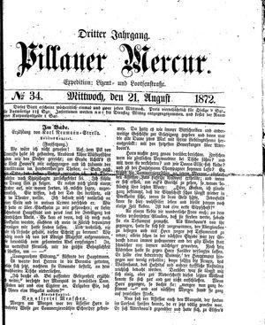 Pillauer Merkur vom 21.08.1872