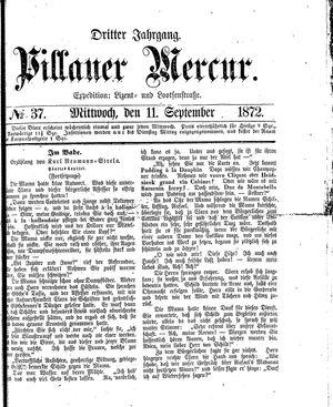 Pillauer Merkur vom 11.09.1872