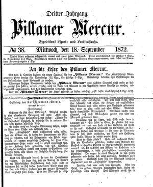 Pillauer Merkur vom 18.09.1872