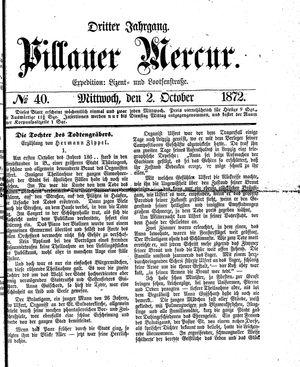 Pillauer Merkur vom 02.10.1872