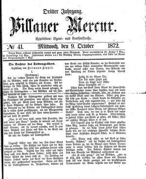 Pillauer Merkur vom 09.10.1872