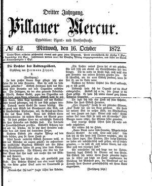 Pillauer Merkur vom 16.10.1872