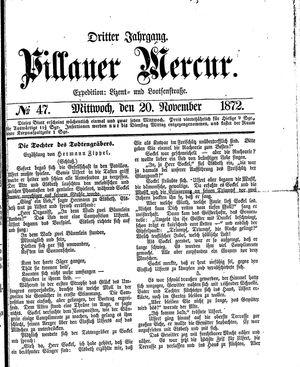 Pillauer Merkur vom 20.11.1872