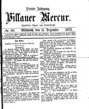Pillauer Merkur vom 11.12.1872