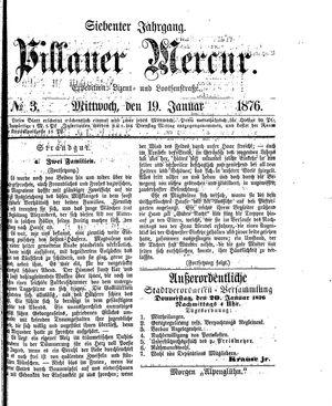 Pillauer Merkur vom 19.01.1876