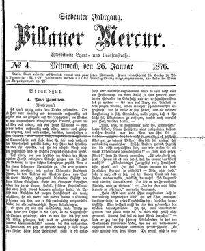 Pillauer Merkur vom 26.01.1876