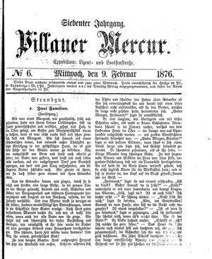 Pillauer Merkur vom 09.02.1876