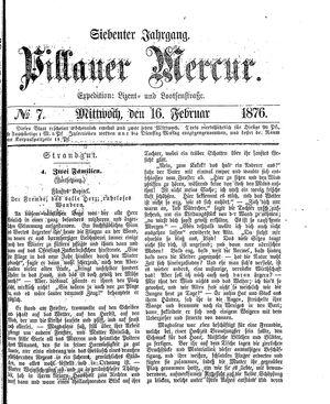 Pillauer Merkur vom 16.02.1876
