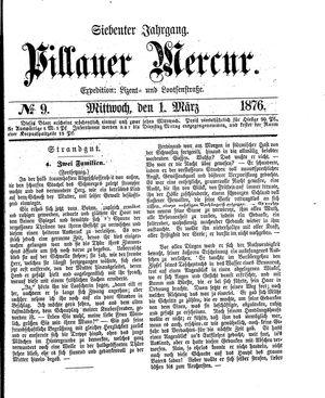 Pillauer Merkur vom 01.03.1876