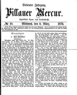 Pillauer Merkur vom 08.03.1876