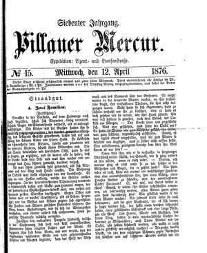 Pillauer Merkur vom 12.04.1876