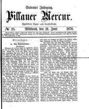 Pillauer Merkur vom 21.06.1876