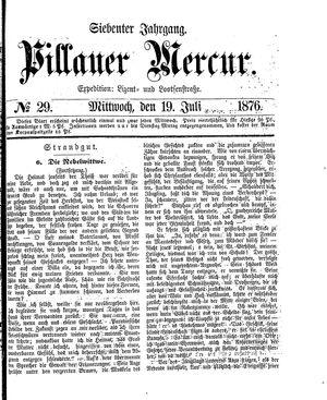 Pillauer Merkur vom 19.07.1876