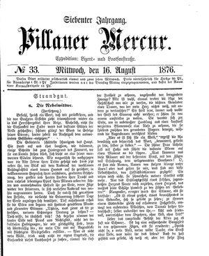 Pillauer Merkur vom 16.08.1876