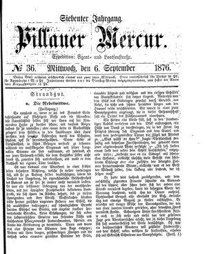 Pillauer Merkur vom 06.09.1876