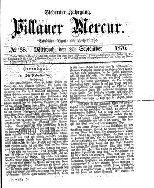 Pillauer Merkur vom 20.09.1876