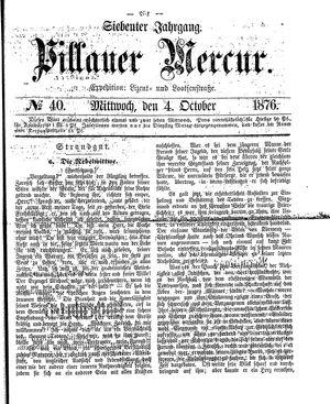Pillauer Merkur vom 04.10.1876