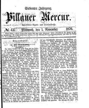 Pillauer Merkur vom 01.11.1876