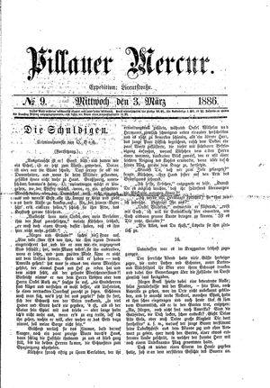 Pillauer Merkur vom 03.03.1886