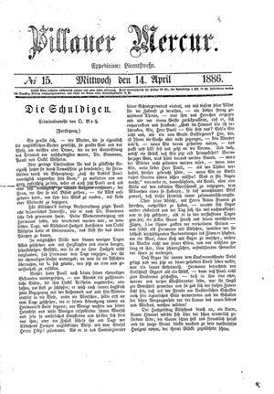 Pillauer Merkur on Apr 14, 1886
