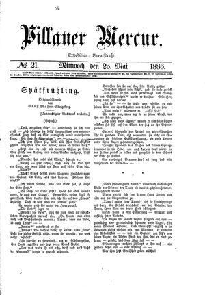 Pillauer Merkur vom 26.05.1886